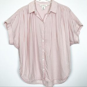 Label of Graded Goods | Striped Button Down Blouse